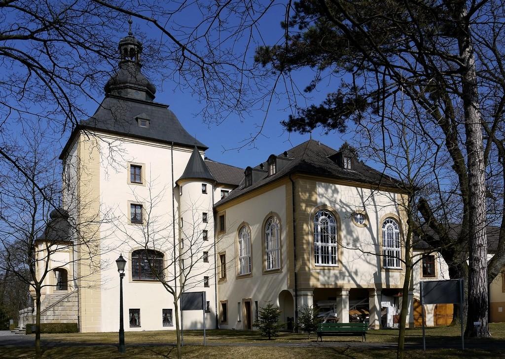 Zdjęcia: Kamień Śląski, opolskie, Pałac od południowej strony, POLSKA