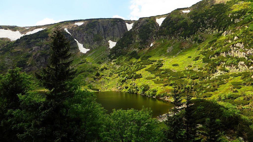 Zdjęcia: Dolina Małego Stawu, Dolny Śląsk, Karkonosze wiosną, POLSKA