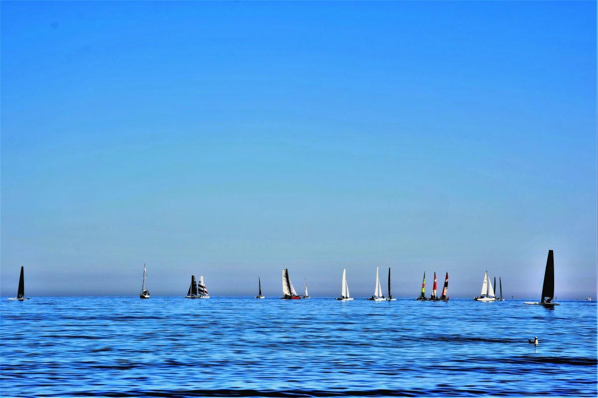 Zdjęcia: Sopot, Pomorze, niebiesko, POLSKA
