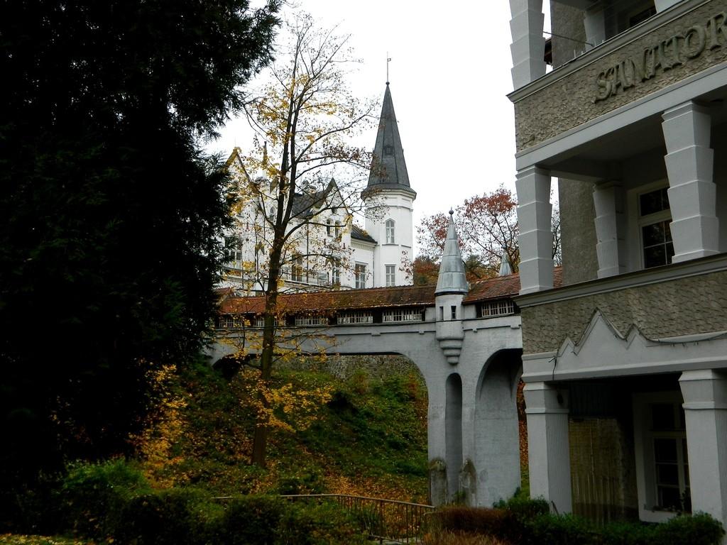 Zdjęcia: Lądek Zdrój, dolnoslaskie, Willa jak pałac, POLSKA