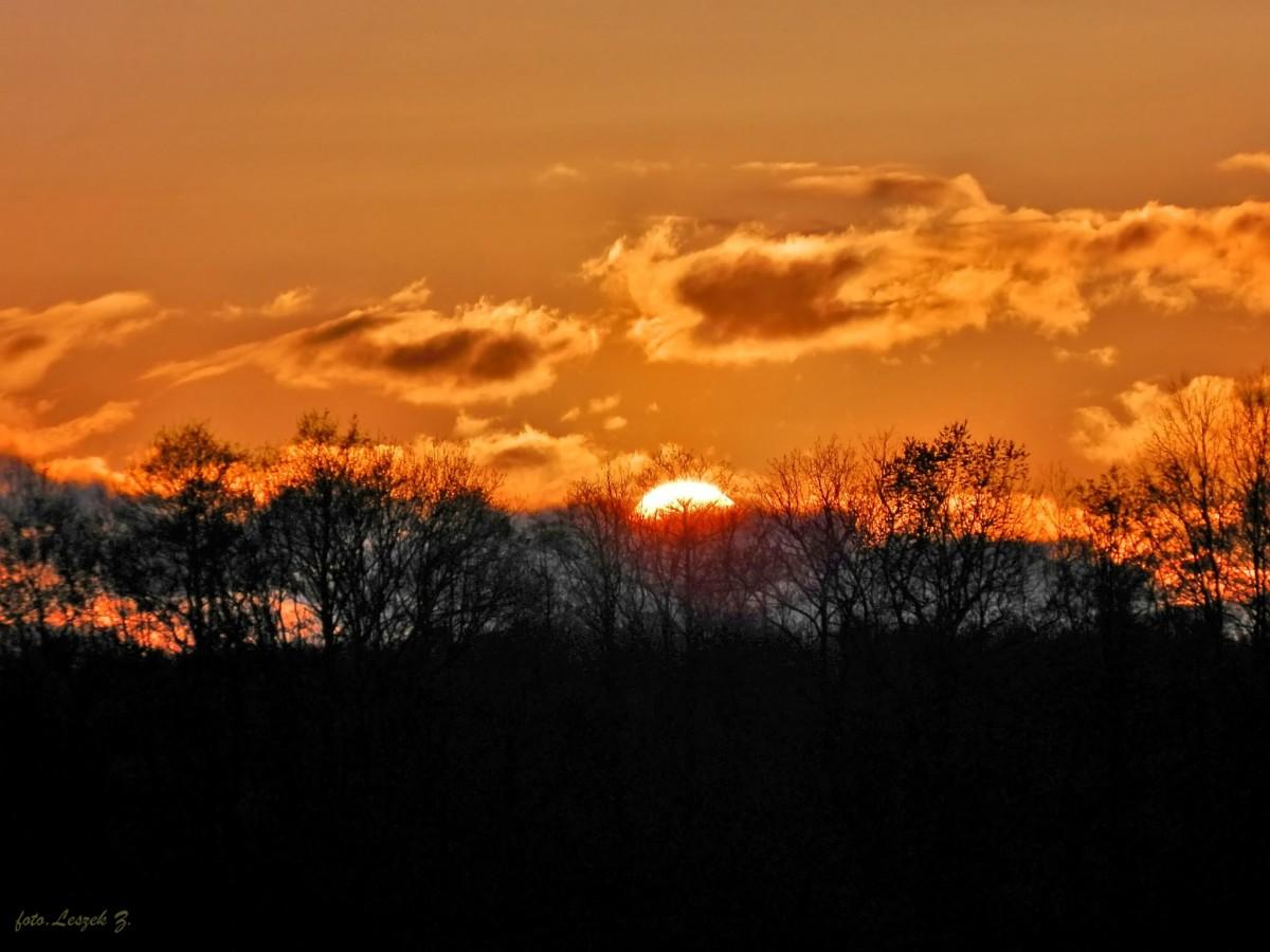 Zdjęcia: IŁAWA., Warminsko-Mazurskie., Zachód słońca nad Jeziorakiem., POLSKA
