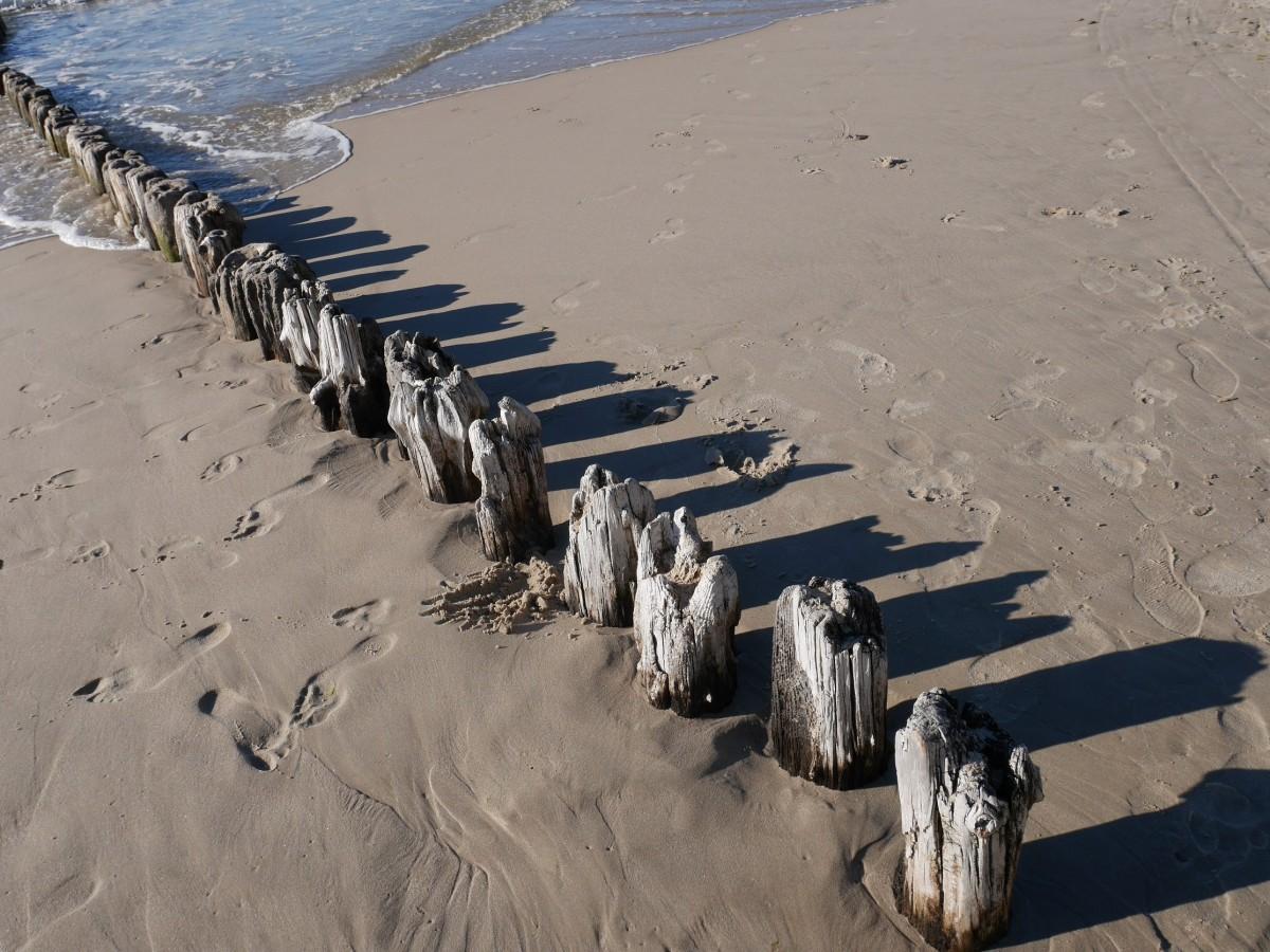 Zdjęcia: Ustronie Morskie, Zachodniopomorskie, Na plaży, POLSKA