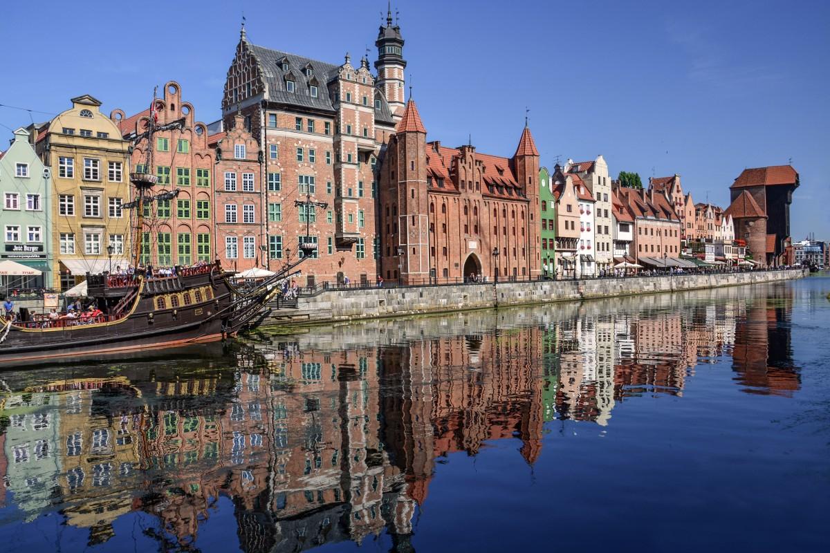 Zdjęcia: Gdańsk, pomorskie, Długie Pobrzeże, POLSKA
