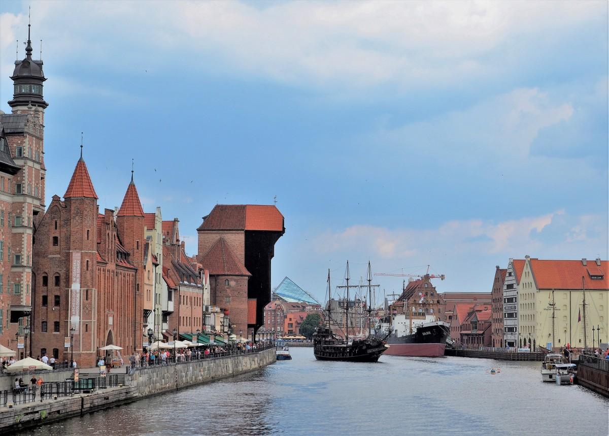 Zdjęcia: Gdańsk, Pomorze, Długie Pobrzeże....., POLSKA