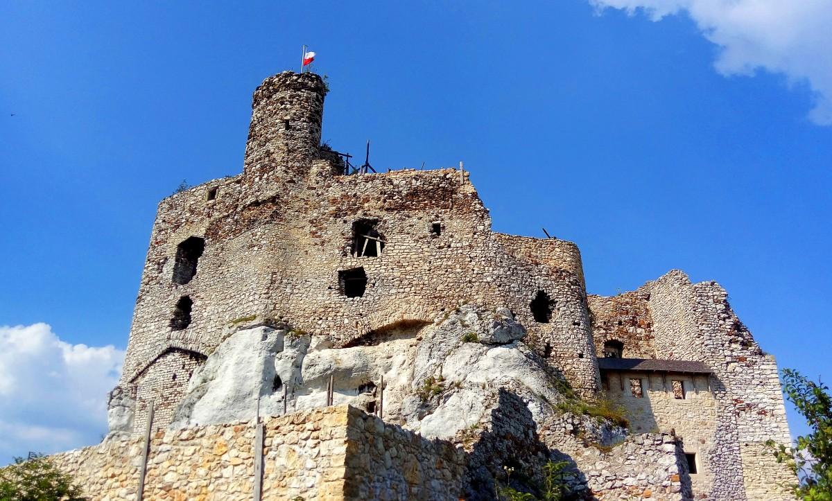Zdjęcia: Mirów, Śląskie, Zamek w Mirowie, POLSKA