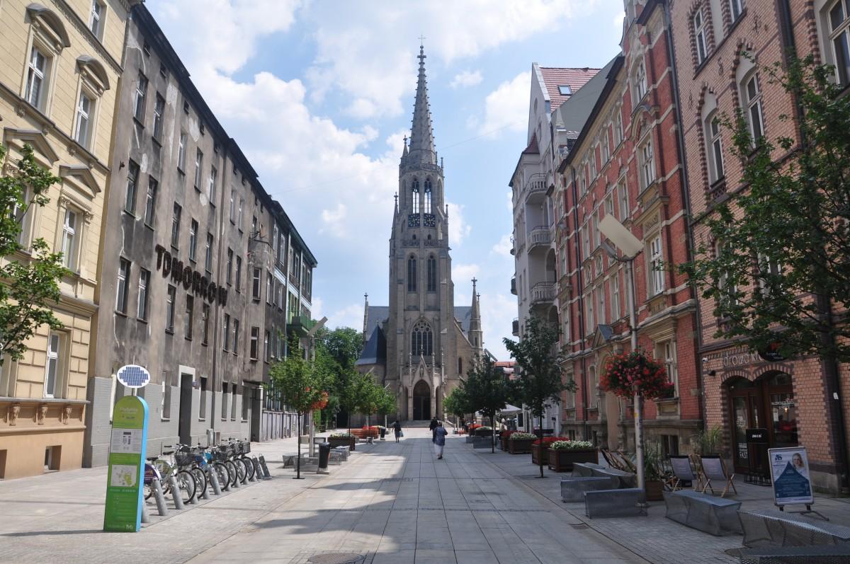 Zdjęcia: Katowice, śląskie, Ulica Mariacka w Katowicach, POLSKA