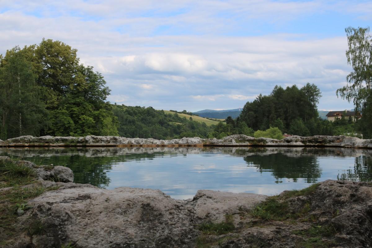 Zdjęcia: Wyżne Rużbachy , Magura Spiska, Jeziorko w Wyżnych Rużbachach, SłOWACJA