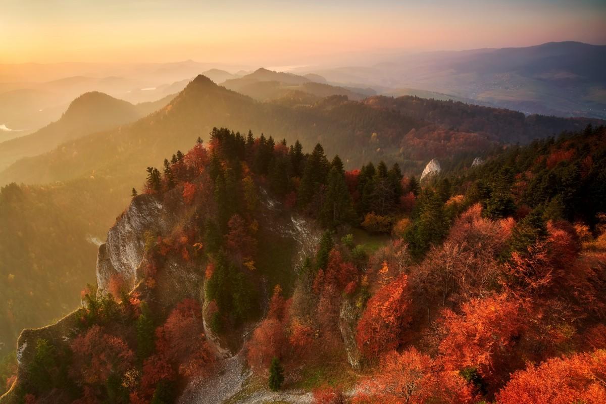 Zdjęcia: Trzy Korony, Pieniny, Kolory jesieni, POLSKA