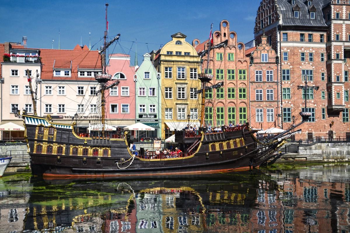 Zdjęcia: Gdańsk, pomorskie, Nad Motławą, POLSKA
