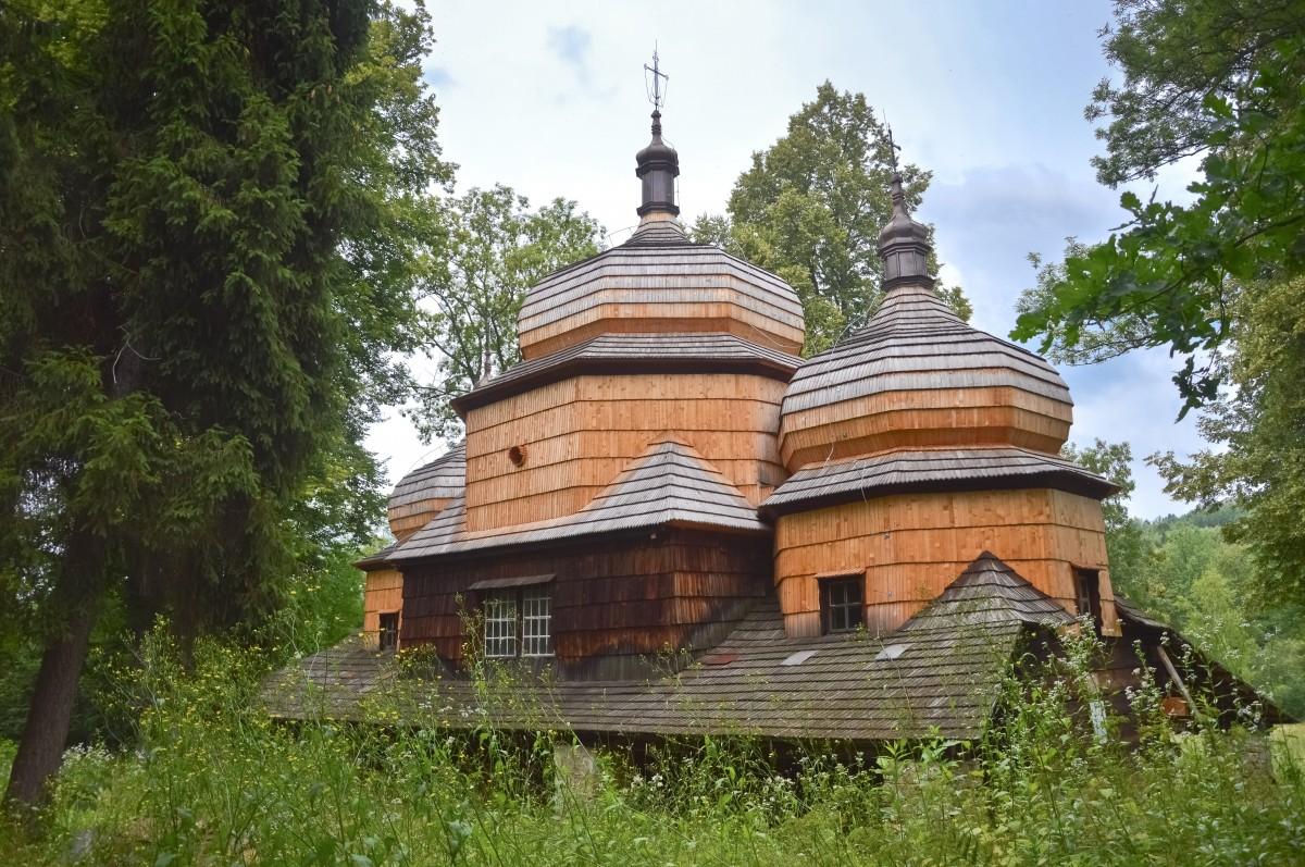 Zdjęcia: Piątkowa, Podkarpacie, Przycupnięta W Lesie, POLSKA