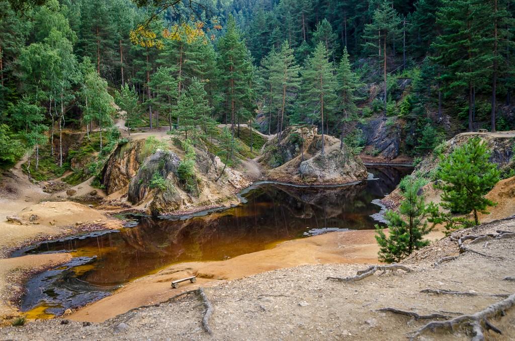 Zdjęcia: Kolorowe Jeziorka, Rudawy Janowickie, susza..., POLSKA