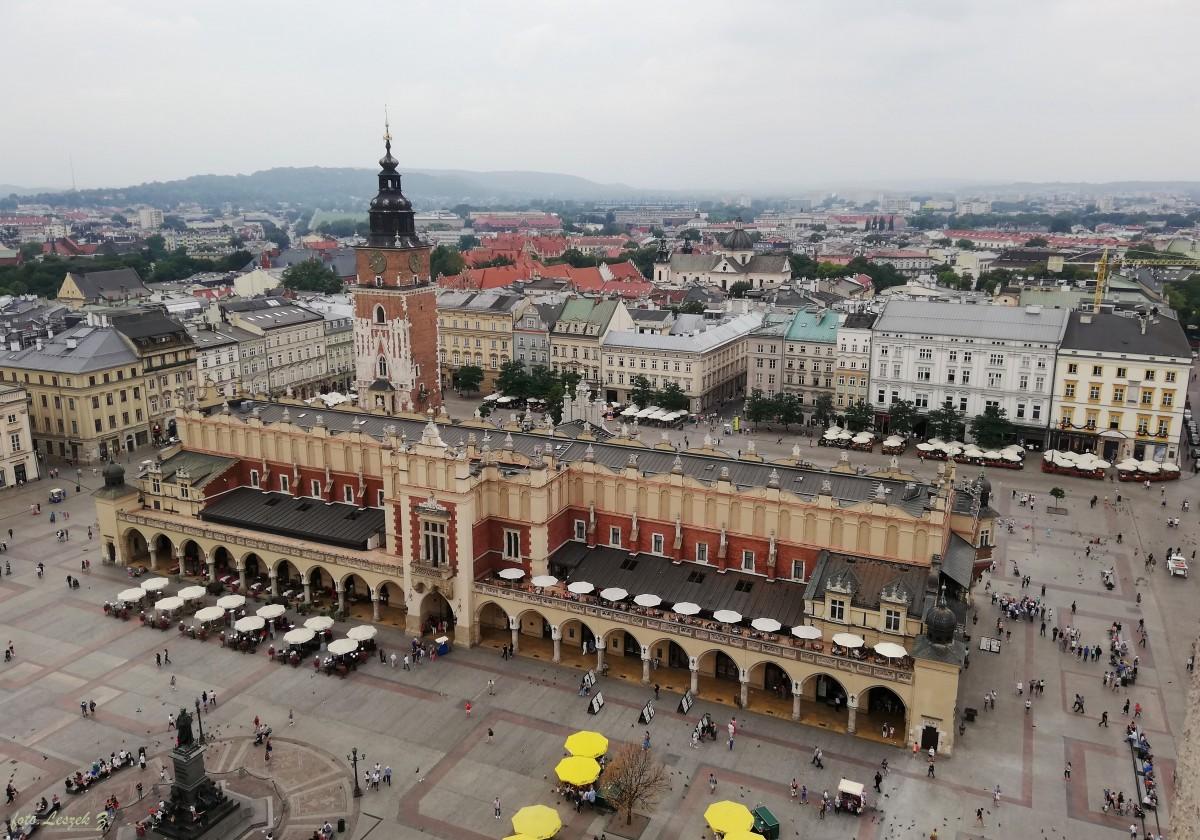 Zdjęcia: Kraków., Kraków., Kraków - widok z Wieży Mariackiej., POLSKA