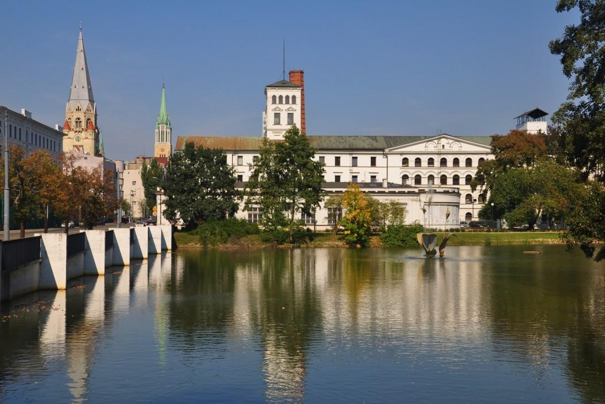 Zdjęcia: Łódź, łódzkie, Biała Fabryka Geyera w Łodzi, POLSKA