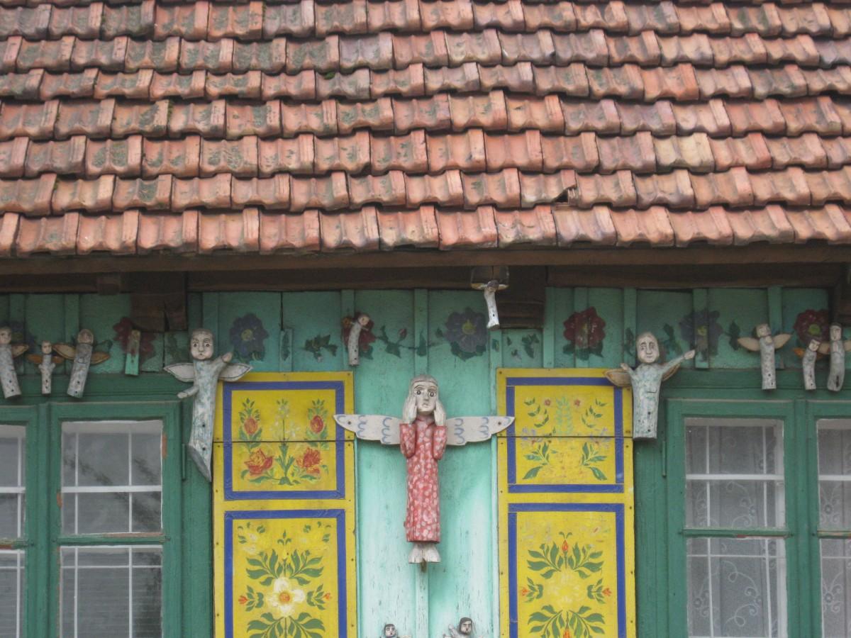 Zdjęcia: Izba Twórcza w Olsztynie, Jura Krakowsko- Częstochowska, Anioły Jana  Wiewióra, POLSKA