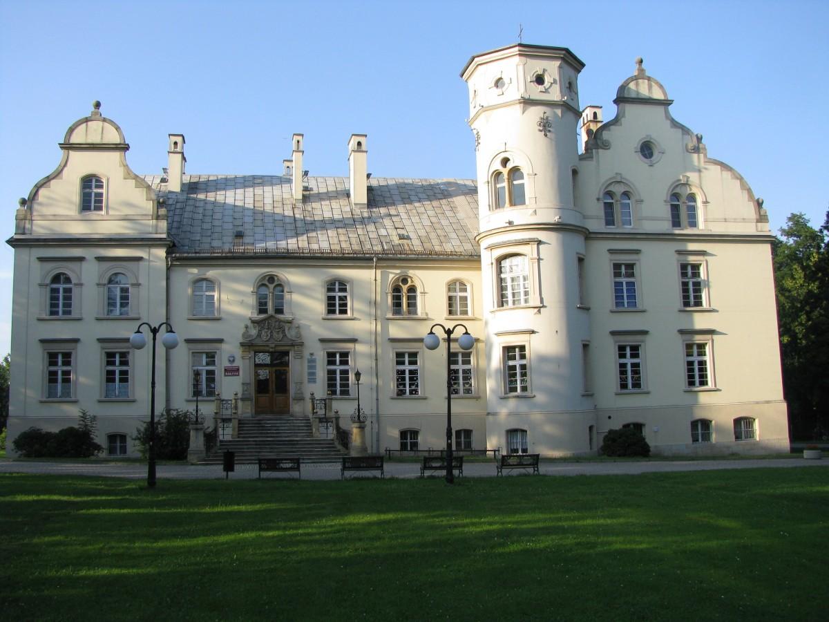 Zdjęcia: Przyszowice, Śląsk, Pałac w Przyszowicach, POLSKA