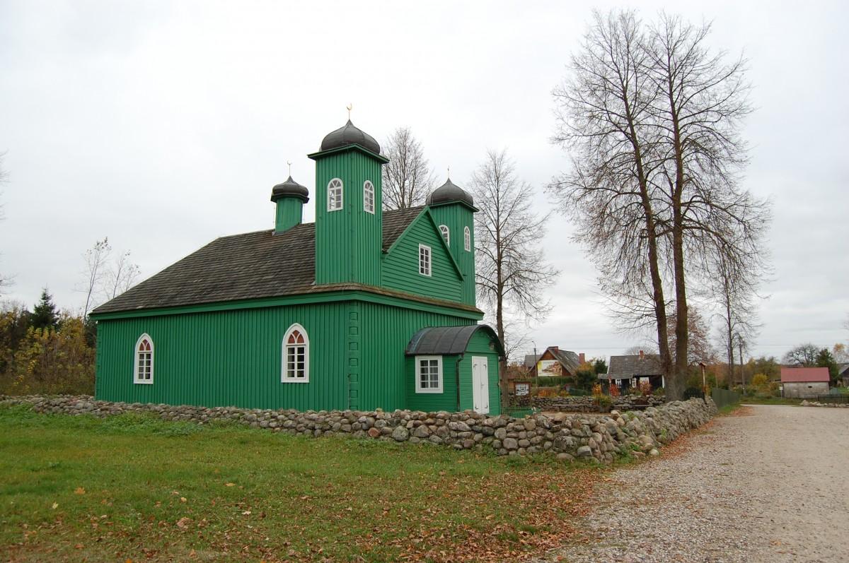 Zdjęcia: Kruszyniany, podlaskie, Drewniany meczet w Kruszynianach, POLSKA