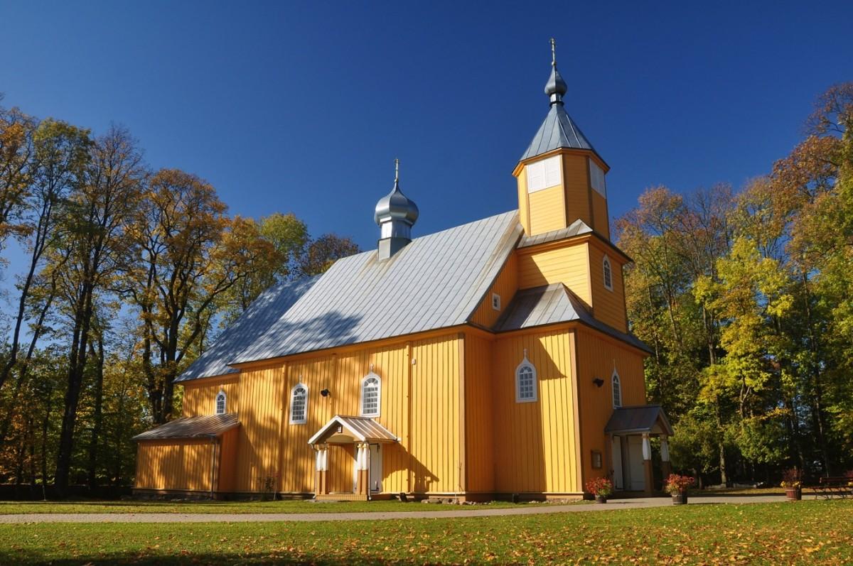 Zdjęcia: Nowoberezowo, podlaskie, Nowoberezowo, drewniana cerkiew, POLSKA
