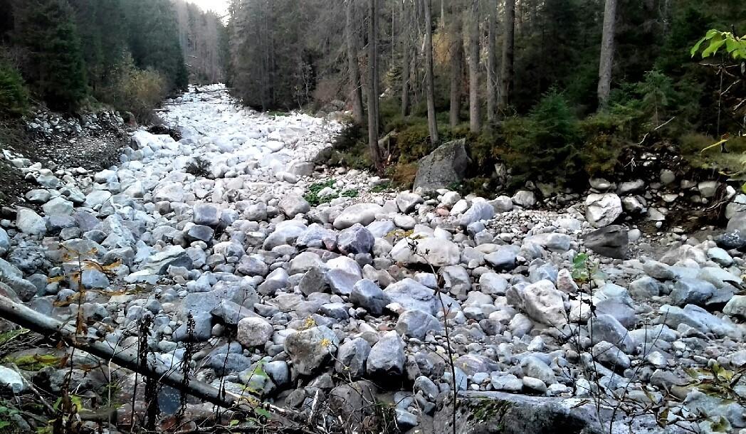 Zdjęcia: Dolina Suchej Wody, Tatry, kamienna rzeka, POLSKA