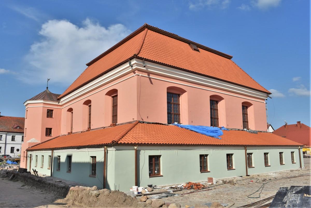 Zdjęcia: Tykocin, Białostockie, Tykocin, stara synagoga, POLSKA