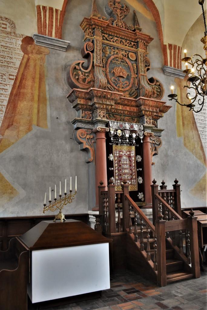 Zdjęcia: Tykocin, Podlaskie, Tykocin, stara synagoga, POLSKA