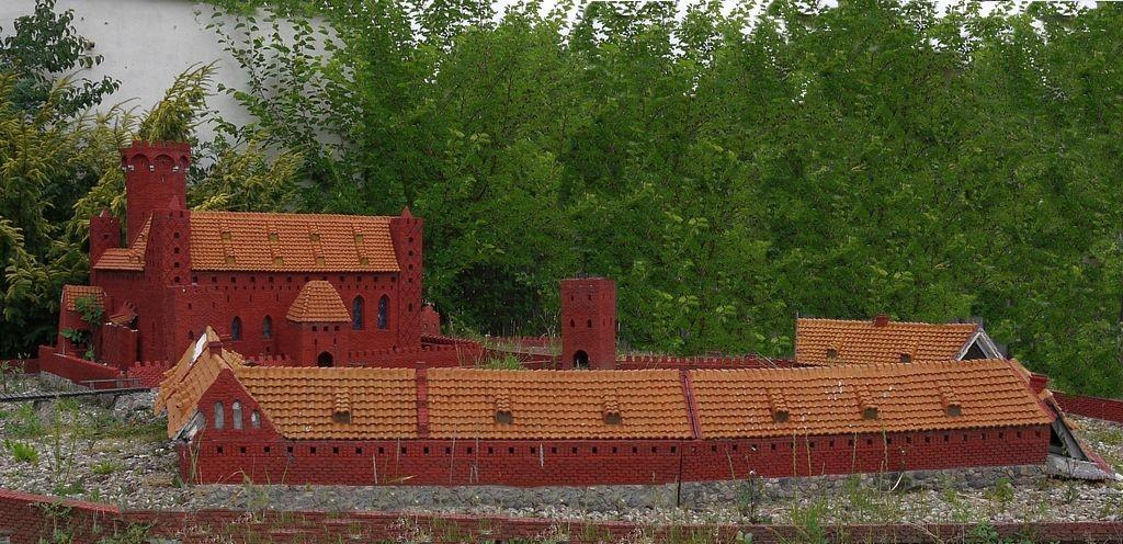 Zdjęcia: Radzyń Chełmiński, kujawsko-pomorskie, Tak wyglądał zamek, POLSKA