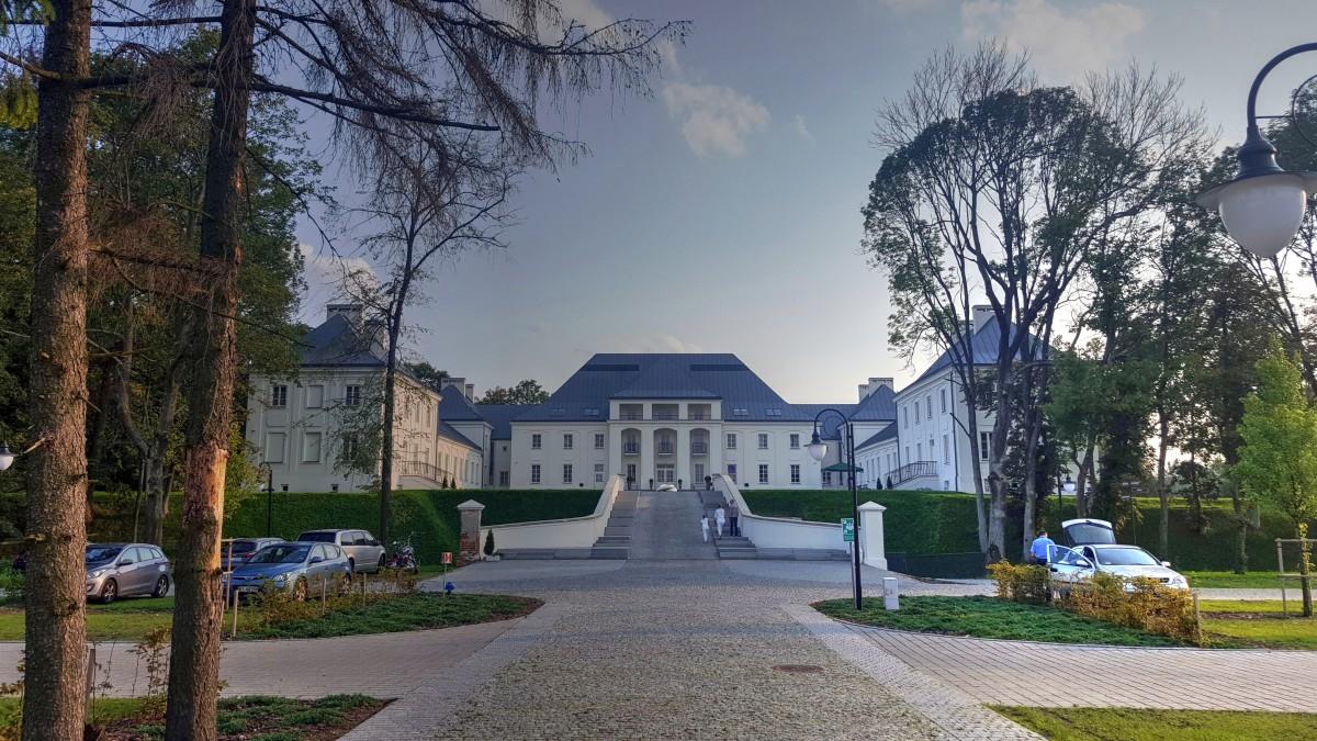 Zdjęcia: Janów Podlaski, Lubelszczyzna, Zamek Biskupi, POLSKA