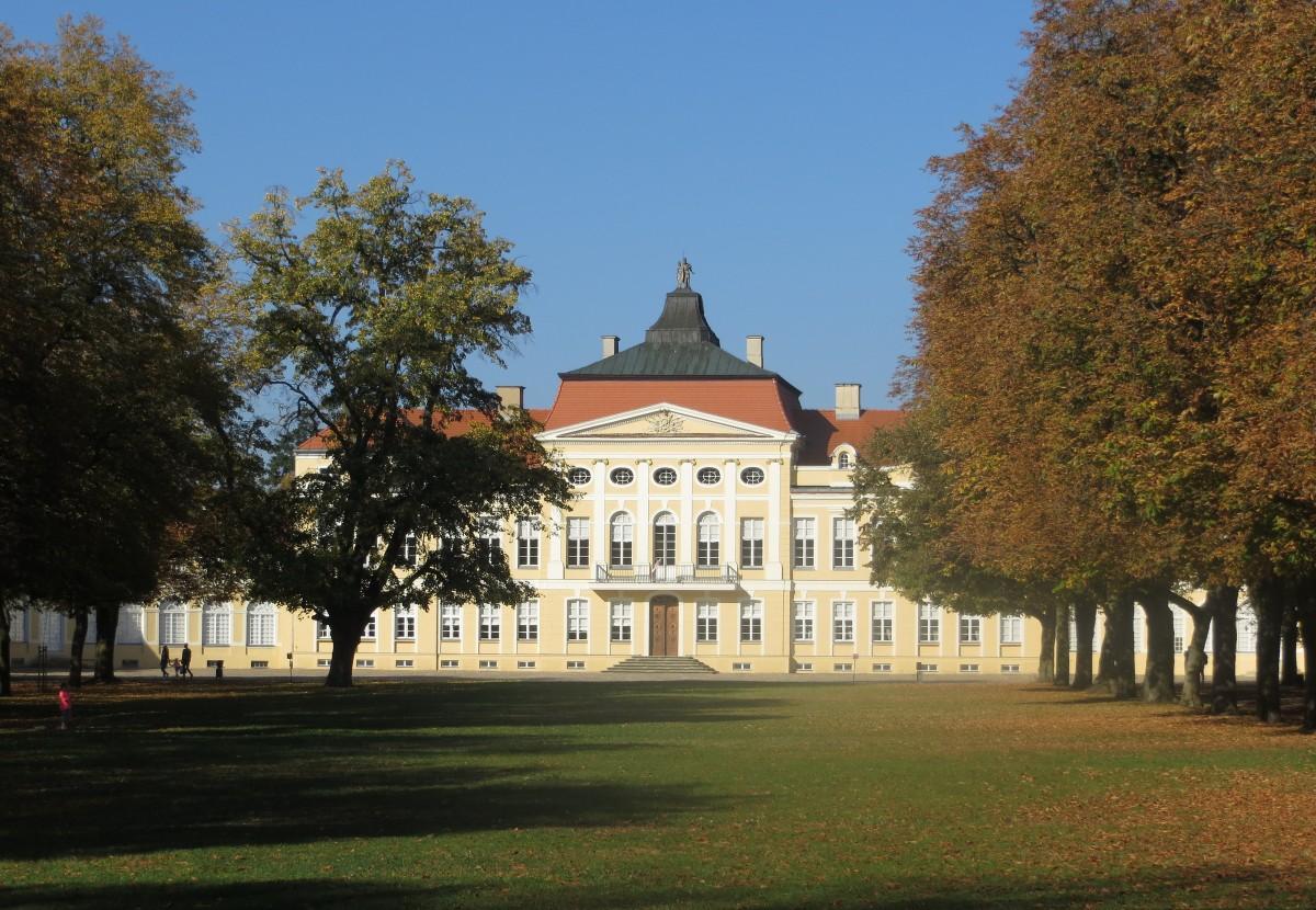 Zdjęcia: Rogalin, Pałac Raczyńskich, Wielkopolska, wart odwiedzin.., POLSKA