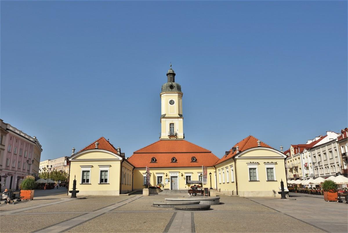 Zdjęcia: Białystok, Podlasie, Białystok, centrum, ratusz, POLSKA