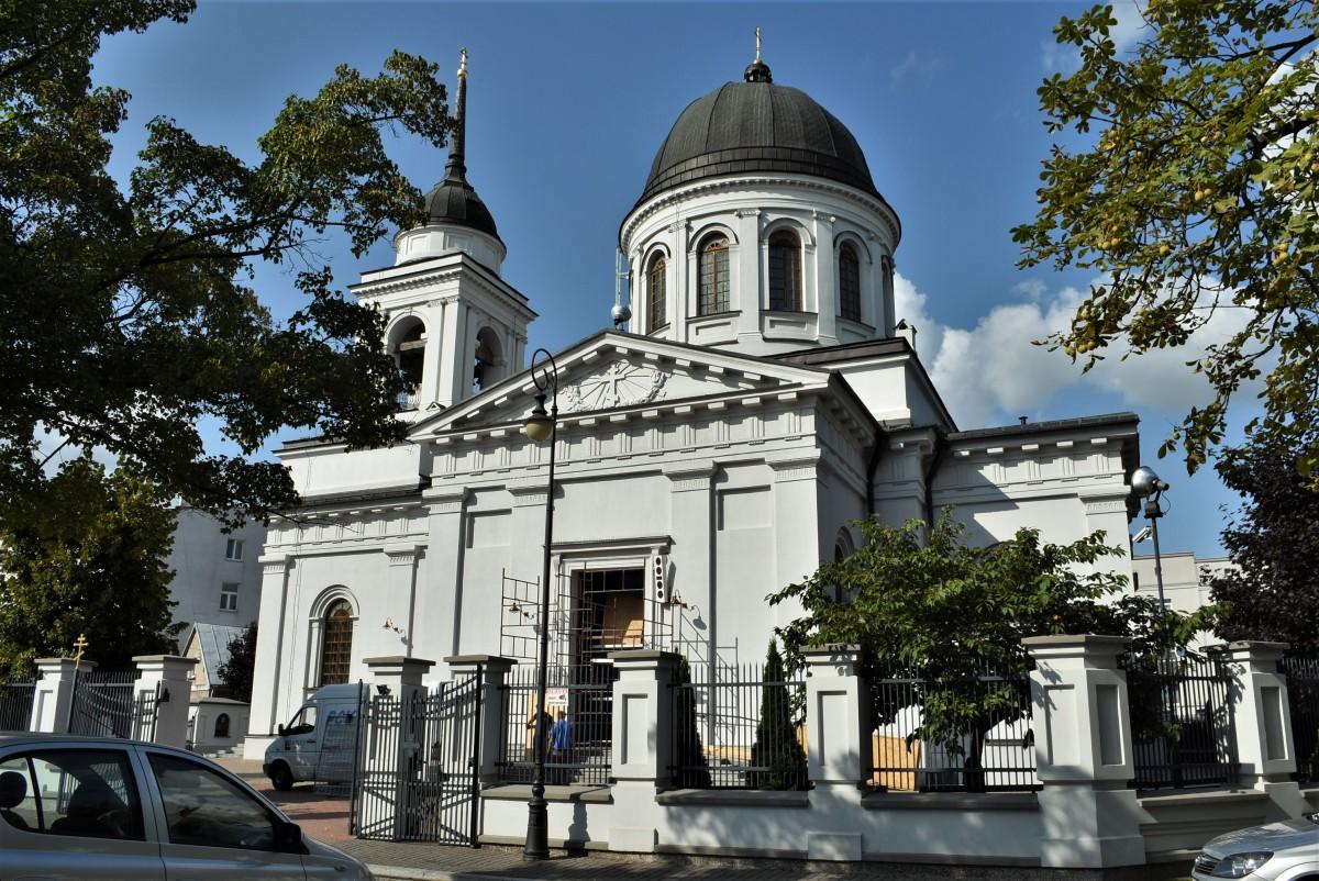 Zdjęcia: Białystok, Podlasie, Białystok, Sobór św. Mikołaja 1843–1846, POLSKA