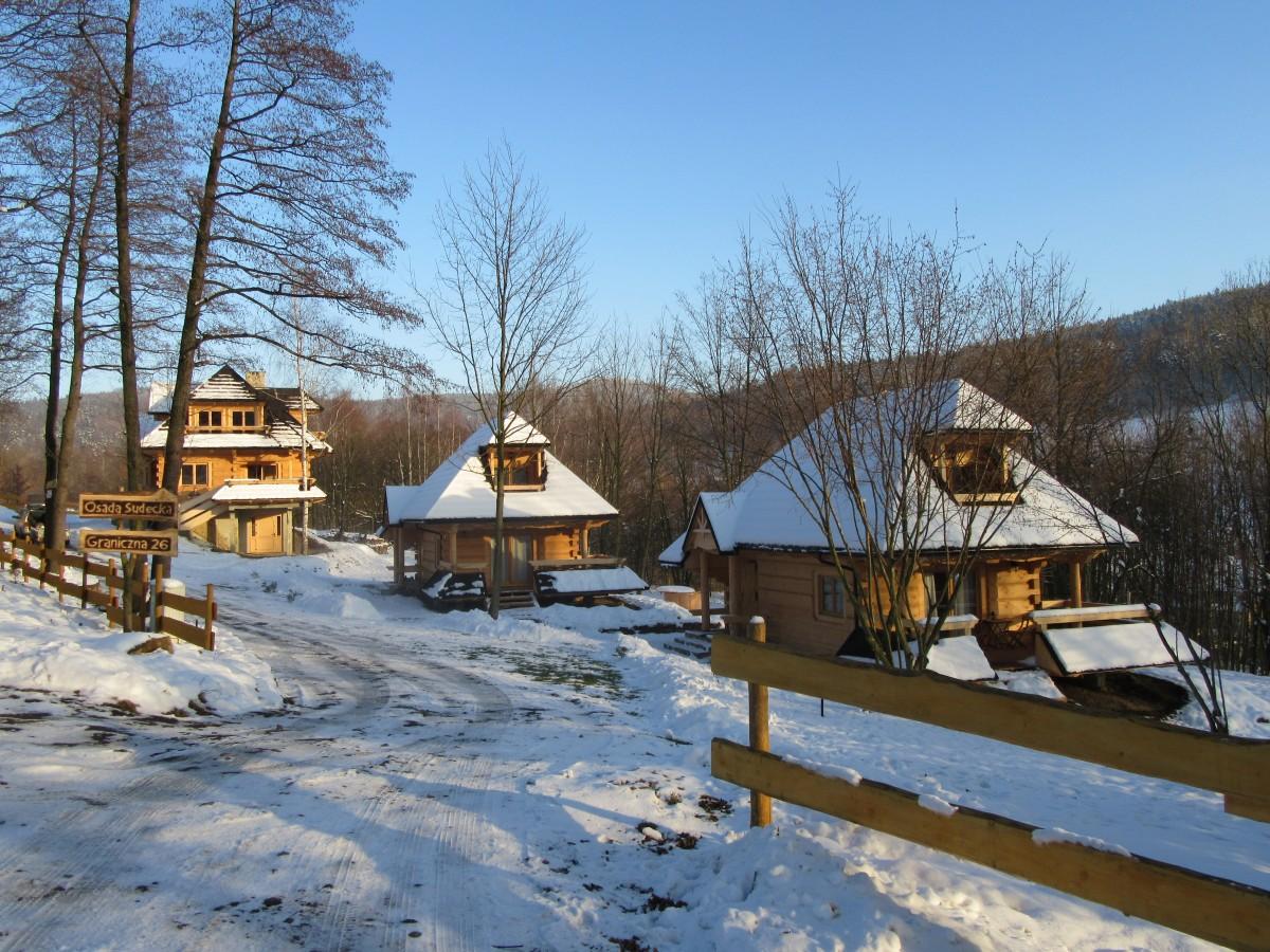 Zdjęcia: Lądek Zdrój, Lądek Zdrój , Domki góralskie  Lądek Zdrój, POLSKA