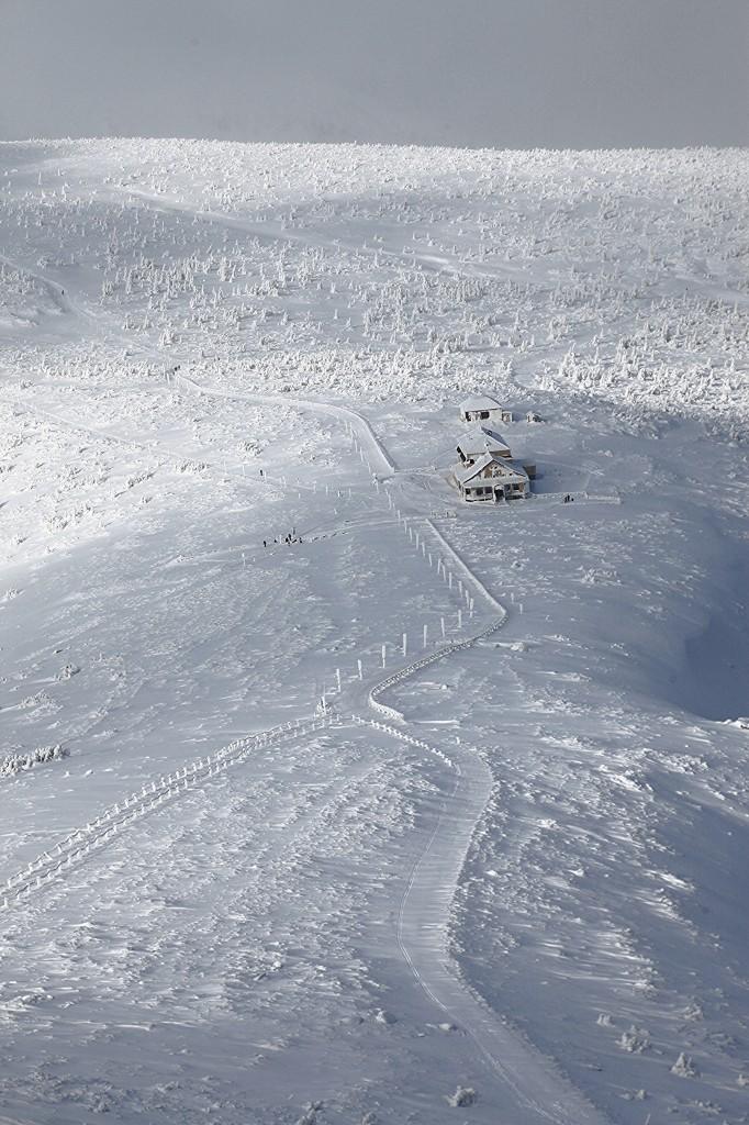 Zdjęcia: Śnieżka, Karkonosze, Biały szlak, POLSKA