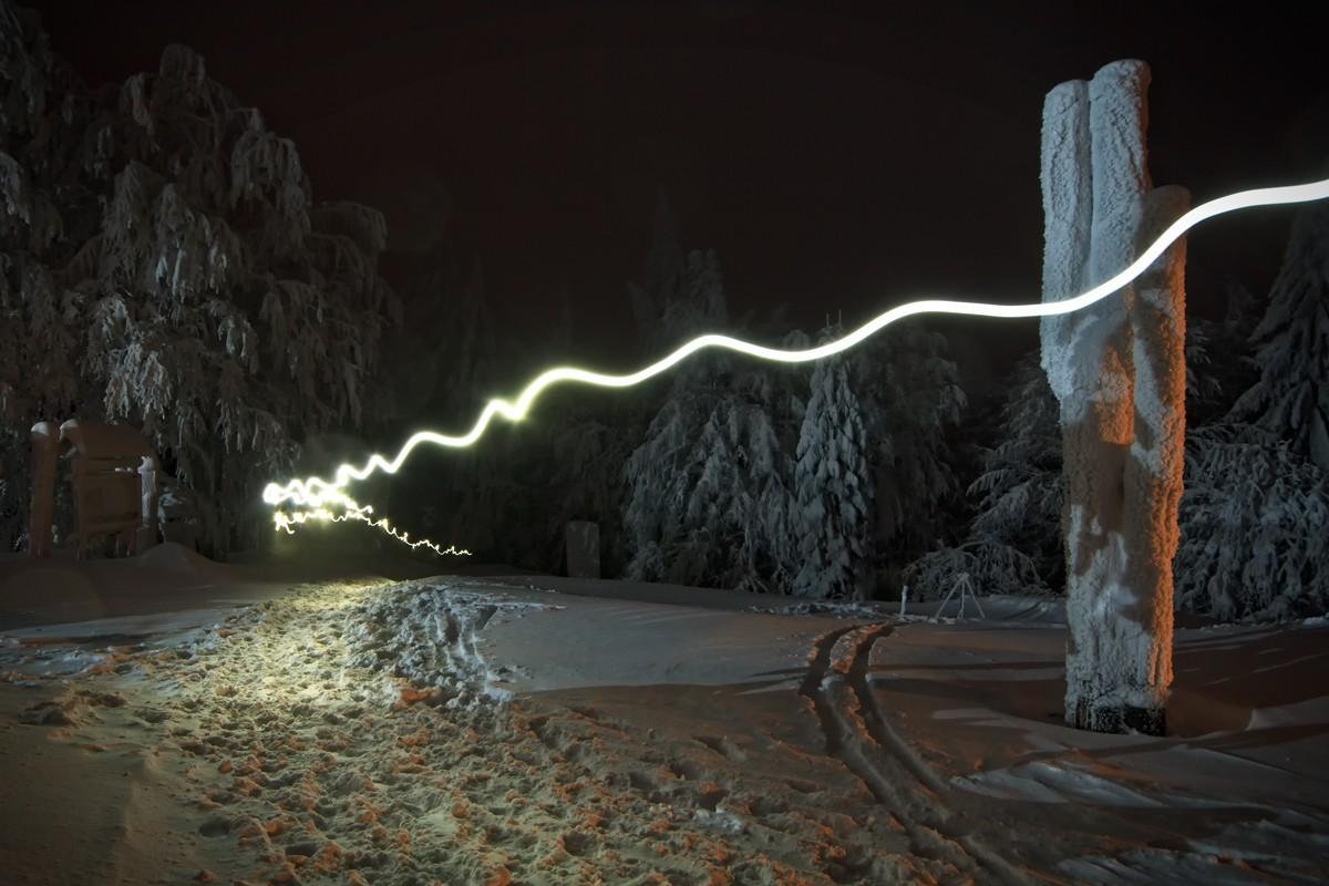 Zdjęcia: Luboń Wielki, Beskid Wyspowy, Nocni wędrowcy, POLSKA