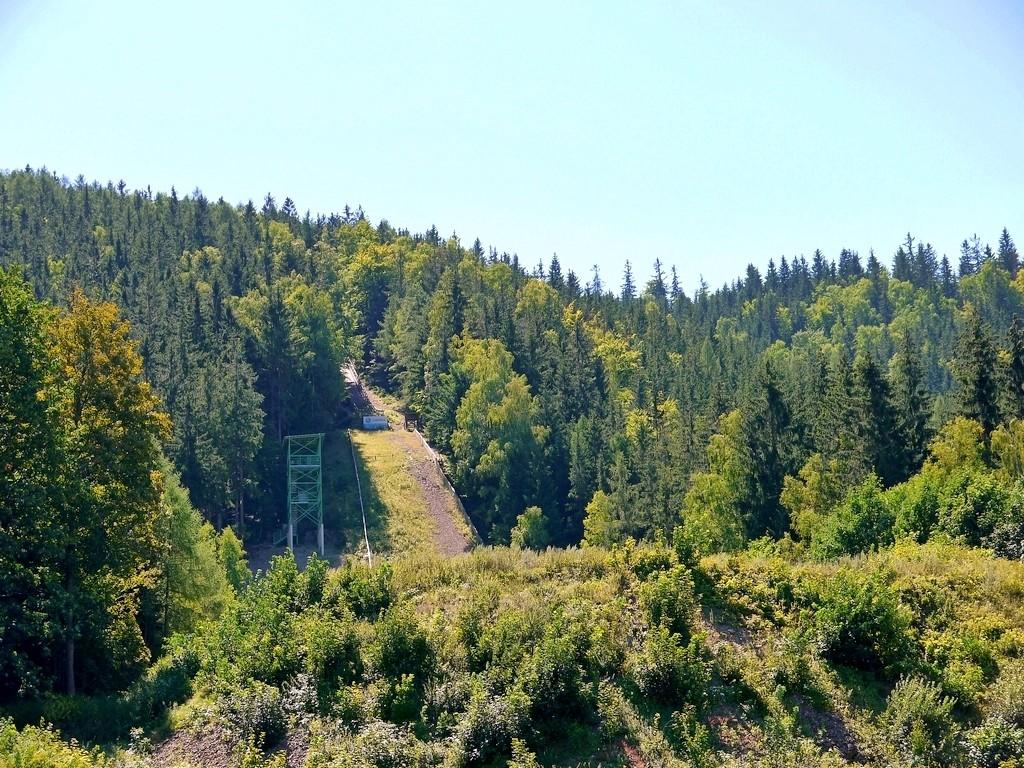 Zdjęcia: Lubawka, dolnośląskie, Skocznia narciarska  na Kruczej Skale, POLSKA