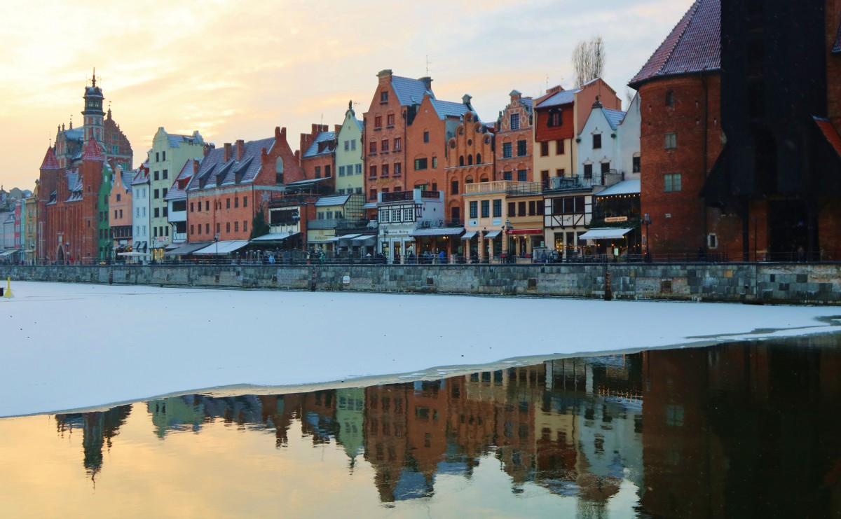 Zdjęcia: Gdańsk, Pomorze, Gdańsk zimowo/na zimno , POLSKA