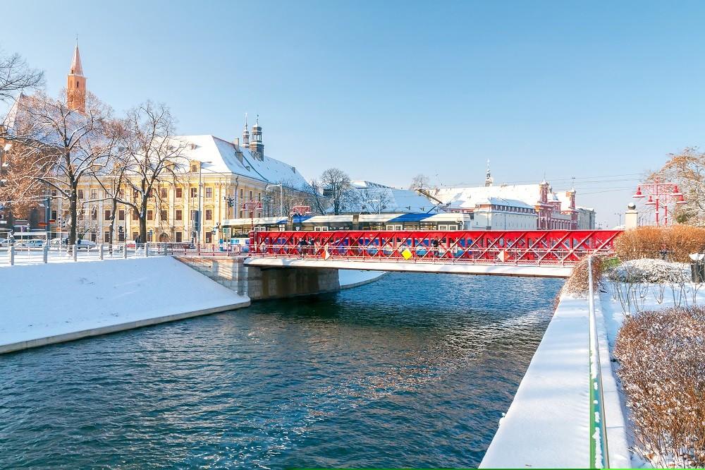 Zdjęcia: Tramwaj na Moście Piaskowym, ---, Wrocław , POLSKA