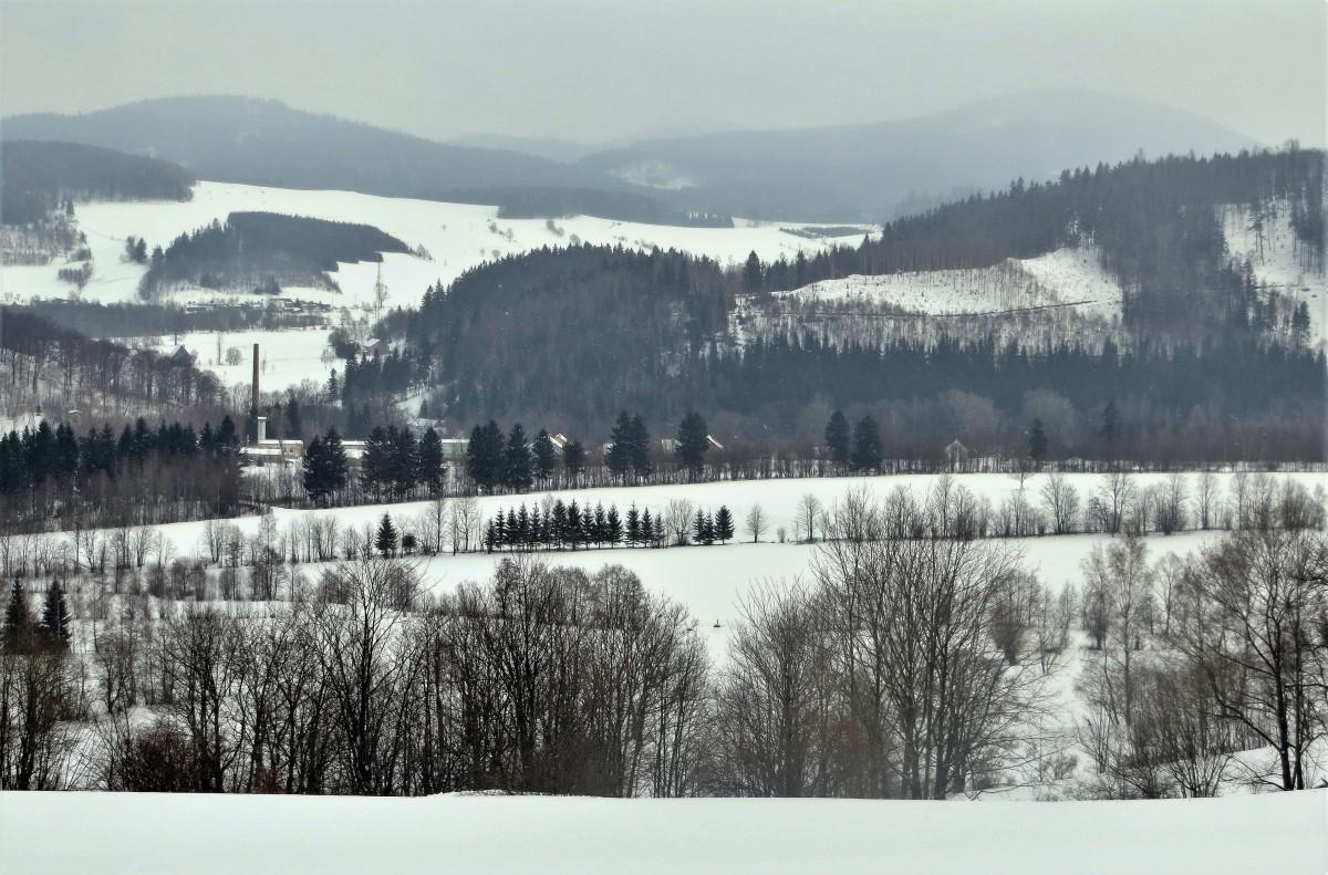 Zdjęcia: Leszczyniec, Dolny Śląsk, bielą się pola..., POLSKA