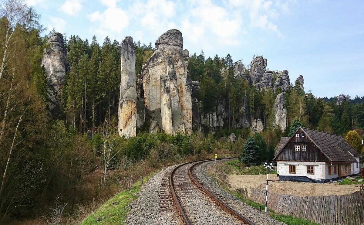 Zdjęcia: Dolni Adrspach, Kraj kralovohradecki, Czeskie klimaty, CZECHY