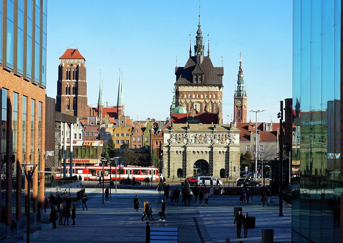 Zdjęcia: Forum, Gdańsk, Za Bramą Wyżynną, POLSKA