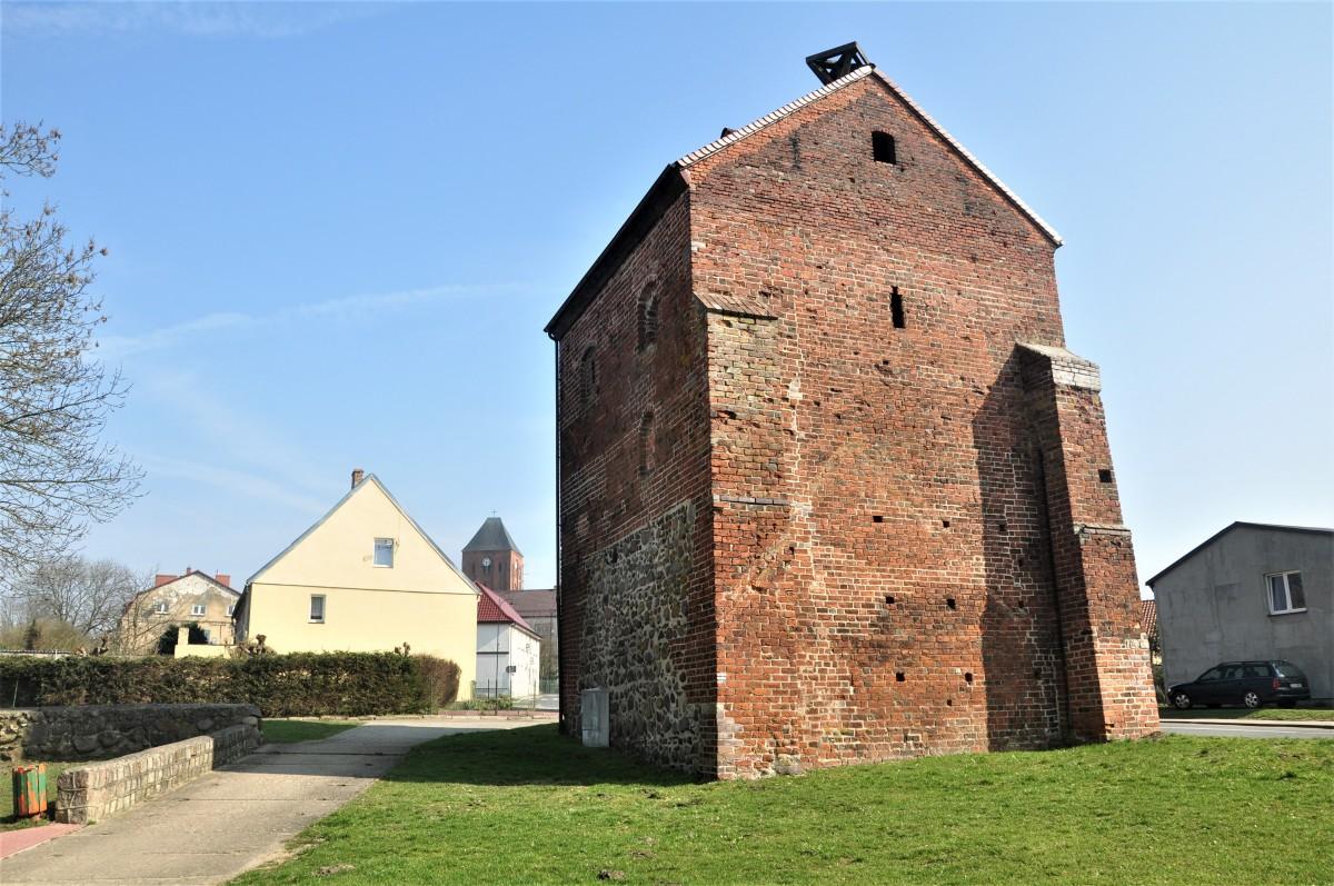 Zdjęcia: Recz, zachodniopomorskie, Recz. Brama Choszczeńska z XIV wieku, POLSKA