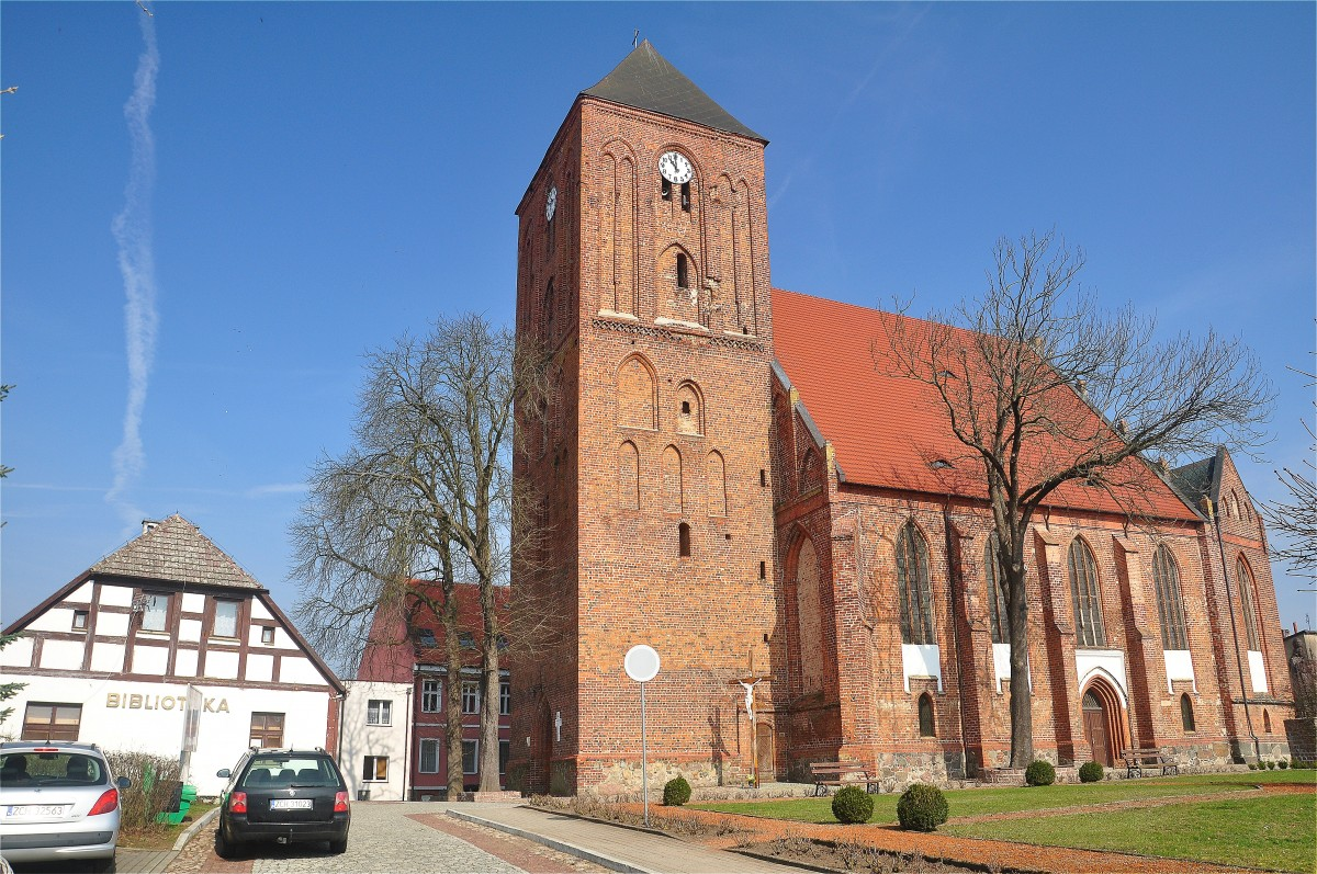 Zdjęcia: Recz, zachodniopomorskie, Recz. Kościół z XIV w, POLSKA