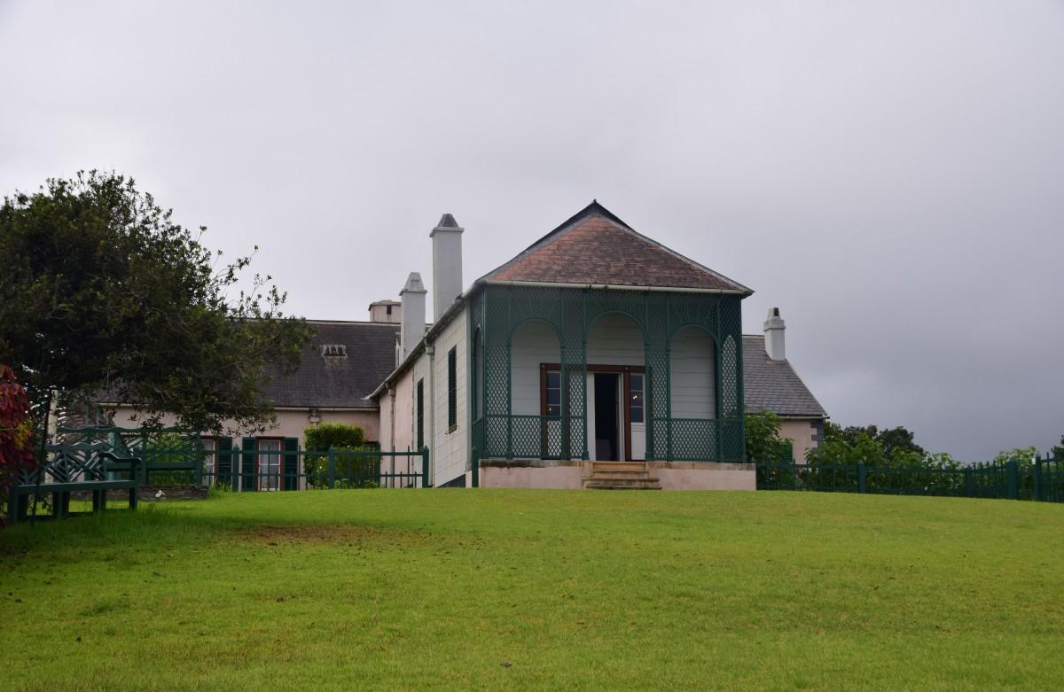Zdjęcia: Longwood, Wschód wyspy, Longwood House, POLSKA