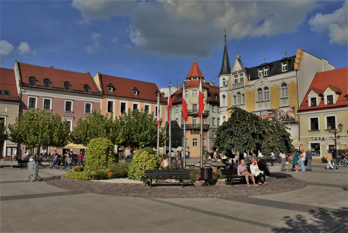Zdjęcia: Pszczyna, Śląsk, Pszczyna, Rynek, POLSKA