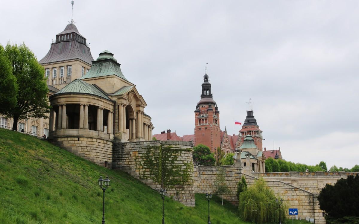 Zdjęcia: Szczecin, Pobrzeże Szczecińskie, Spacerując wzdłuż Odry..., POLSKA