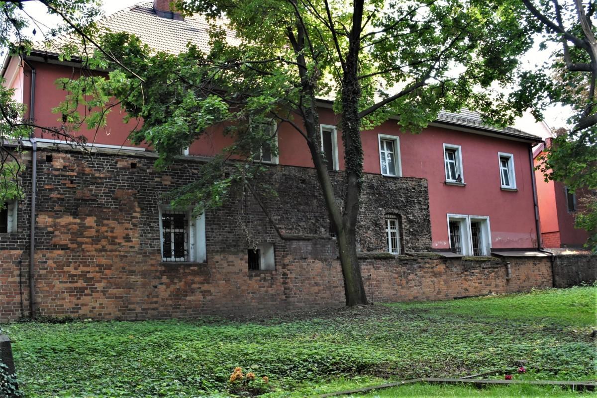 Zdjęcia: Żory, Śląsk, Żory, relikty średniowiecznych murów miejskich, POLSKA