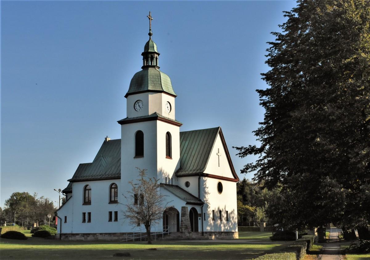 Zdjęcia: Żory, Śląsk, Żory, Kościół ewangelicki, POLSKA