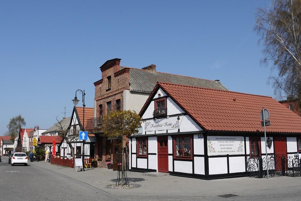 Zdjęcia: Hel, pomorskie, Uliczka na Helu, POLSKA