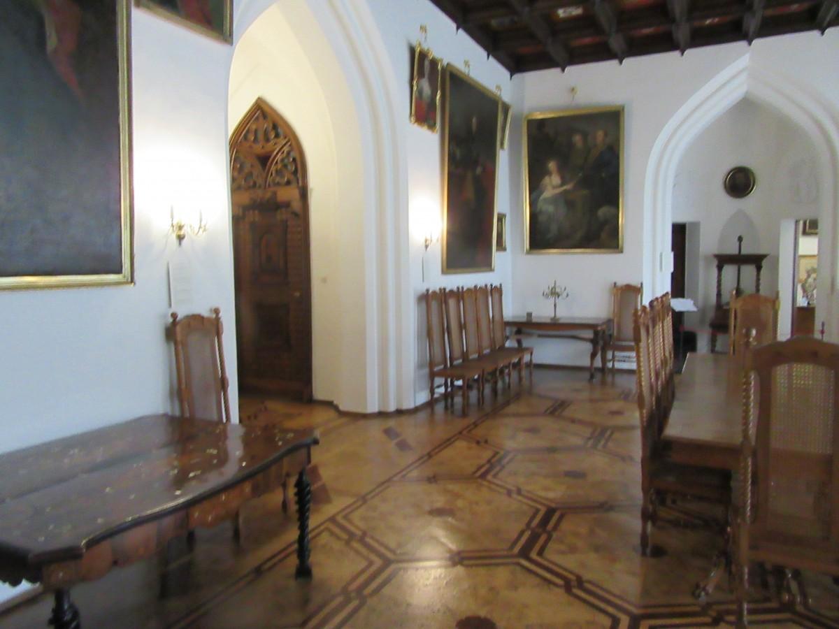 Zdjęcia: Kórnik, poznańskie, Wnętrze zamku w Kórniku, POLSKA