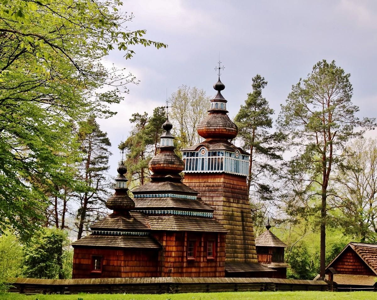 Zdjęcia: Sanok, województwo podkarpackie, Cerkiew Narodzenia Bogurodzicy z 1801 roku, POLSKA