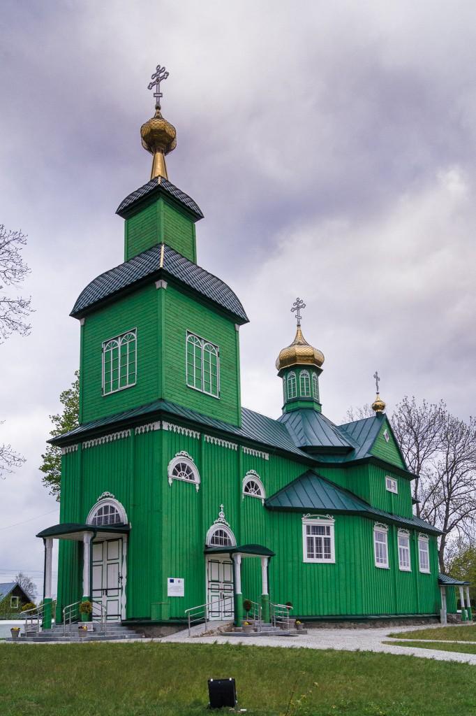 Zdjęcia: Trześcianka, Podlasie, Cerkiew w Trześciance, POLSKA