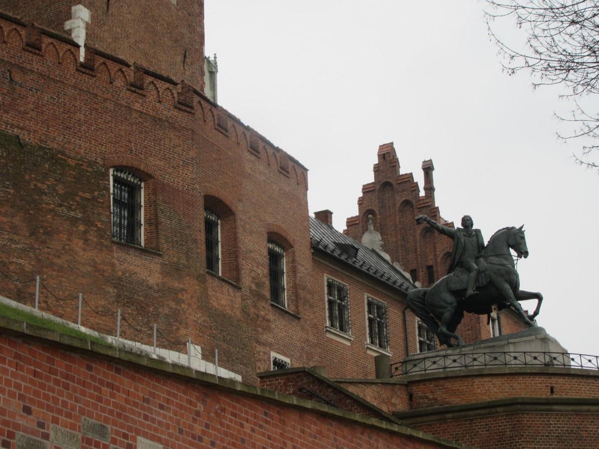 Zdjęcia: Kraków, Kraków, Kościuszko pod Wawelem - Kraków, POLSKA